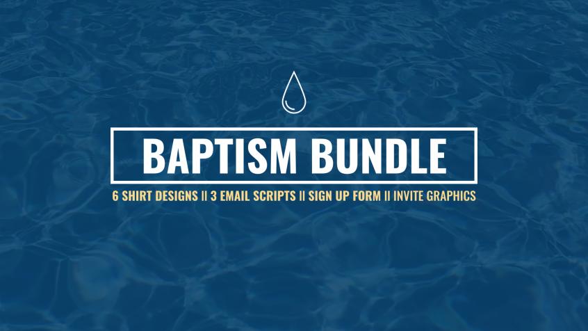 Baptism T-Shirts Files