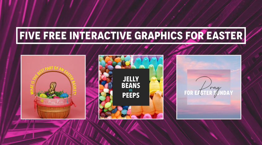Free Interactive Social Media Bundle for Easter - For