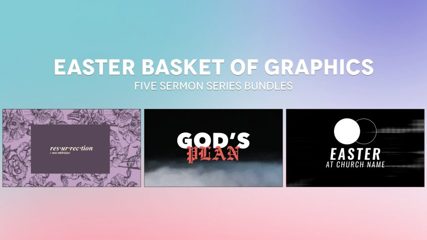 Five Free Easter Sermon Series Bundles - For Ministry Resources