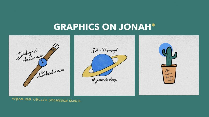 Graphics on Jonah