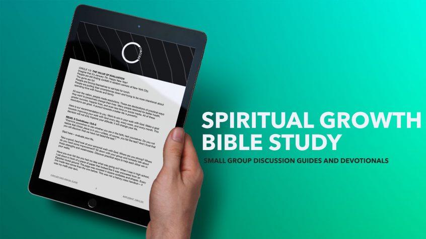 spiritual growth bible study