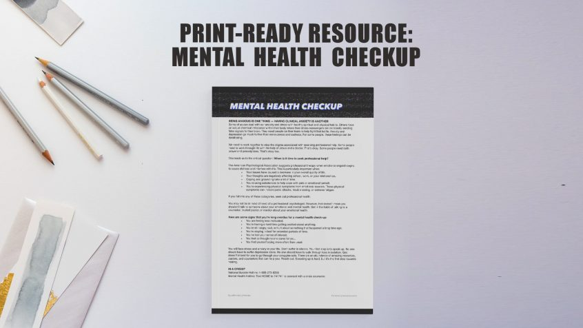 Mental Health Resources for Youth